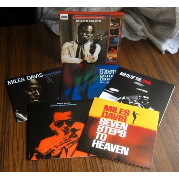 MILES DAVIS - Timeless Classic Albums 5 CD Kind Of