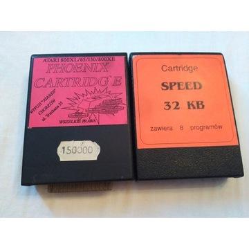 Atari cartridge dwie sztuki