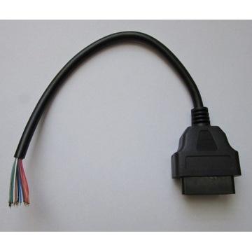 Wtyczka złącze adapter serwisowy OBD OBD2 Żeńskie
