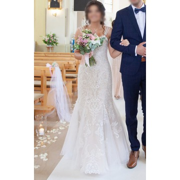 Suknia ślubna syrenka rybka 2019 Stella York 6743