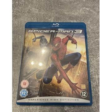 Spider-man 3 film na Blu-ray