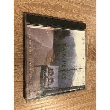TWIN PEAKS SOUNDTRACK, 1 WYD, 1990, UNIKAT AAD