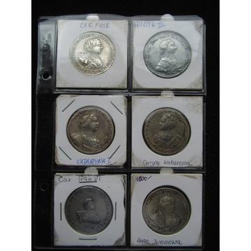 Zestaw Carskch monet