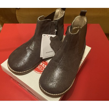 Skórzane buty jeździeckie Reserved
