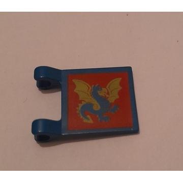 LEGO Castle Flaga 2335px9 do zamku 6086