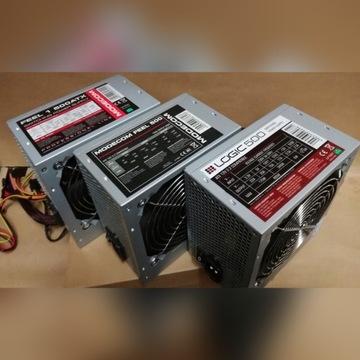 Zasilacz ATX 500W Różne modele Modecom, OCZ.