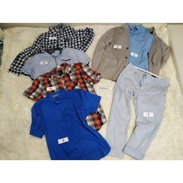 Mega paka Reserved, marynarka, koszule spodnie XL