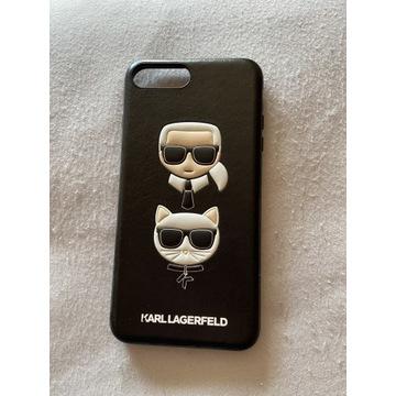 Etui iPhone 7/8 Plus Karl Lagerfeld jak nowy