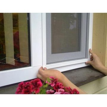 Moskitiera okienna na wymiar