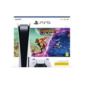 PlayStation 5 Blu ray+Ratchet&Clank : Rift Apart