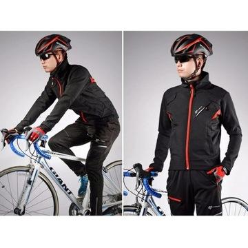 Zestaw na rower kurtka spodnie Rockbros roz S