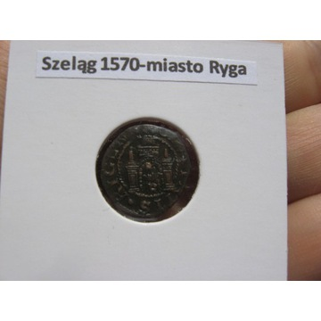 Ryga-szelag 1570 r.