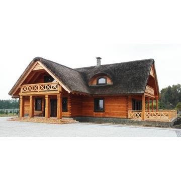dom z bali, dom drewniany, budowa domów z bali
