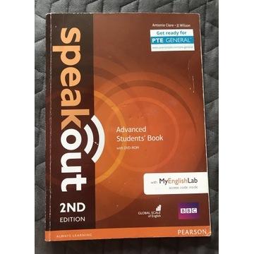 Speakout Advanced 2ed edition podręcznik+DVD