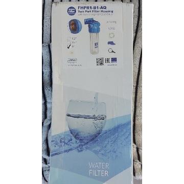 Korpus narurowy FHPR1-B-AQ Aquafilter 1 cal filtr