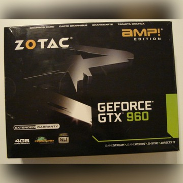 GeForce GTX 960 4GB Zotac AMP Edition