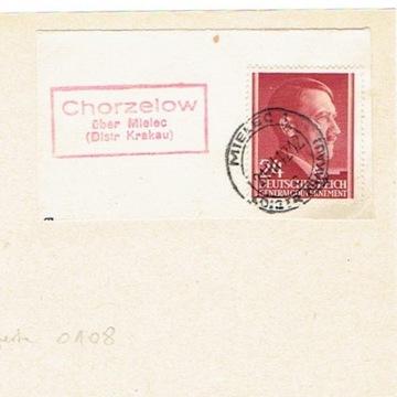 GG - Wycinek z pośrednictwa Chorzelów k. Mielca
