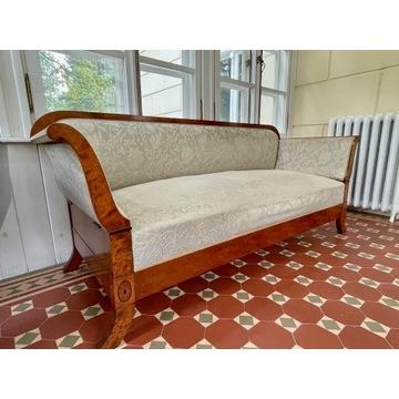 """Sofa i stół """"klapiak"""" – komplet biedermeier, antyk"""