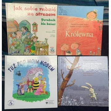 Książki terapeutyczne dla dzieci - zestaw 1
