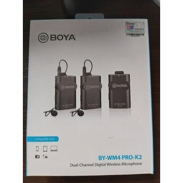 BOYA WM4 PRO-K2 bezprzewodowe mikrofony