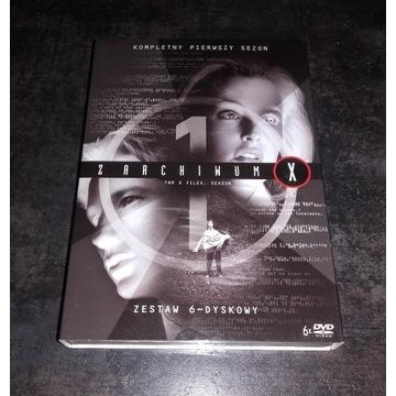 Z Archiwum X Sezon 1 DVD Lektor PL