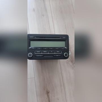 RADIO VW GOLF VI JETTA POLO TOURAN IDEALNE Z KODEM
