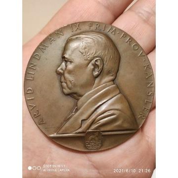 Medal Szwecja 1932r.Lindman