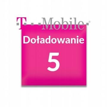 Doładowanie T-Mobile 5zł
