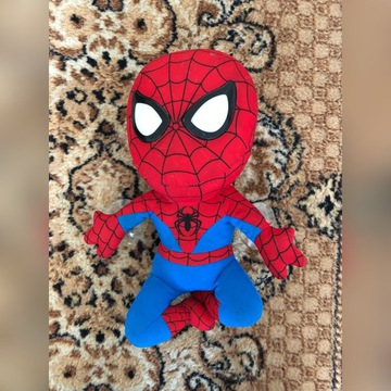Spiderman ze świecącymi oczami