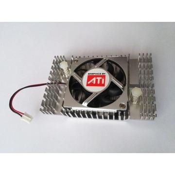 Chłodzenie akt radiator wentylator grafika chipset
