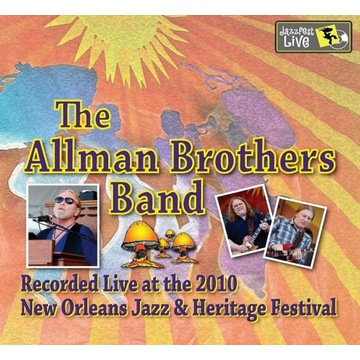 ALLMAN BROTHERS BAND - JAZZ FEST 2010 - 2CD