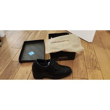 Buty dla panów dodające wzrostu 12 cm