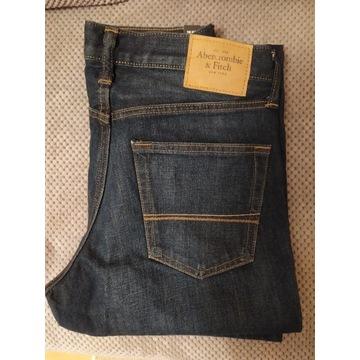 Spodnie Abercrombie & Fitch 31/32