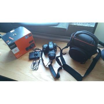 Aparat Sony SLT-A57K z obiektywem DT 18-55mm