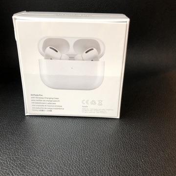 APPLE AirPodsPro - bezprzewodowe słuchawki douszne