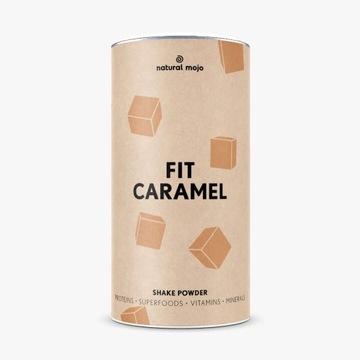 Natural Mojo Fit Caramel  koktajl białkowy