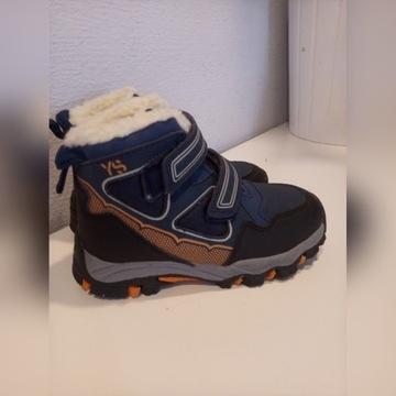 Buty zimowe chłopięce r.29 nowe