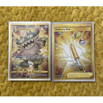 Pokemon tcg zestaw perrserker ordinary rod gold