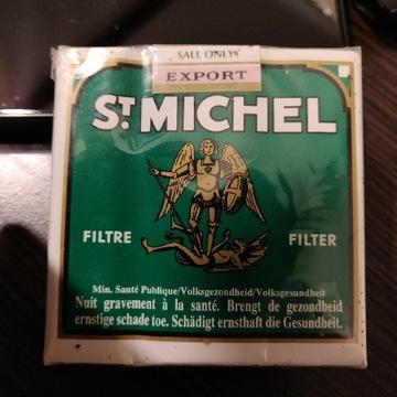 Kolekcjonerska paczka papierosów st.Michel