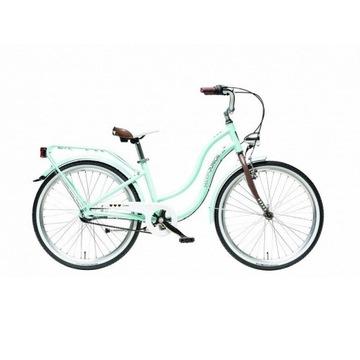 """Miętowy rower dziewczęcy Maxim 24"""" mj 4.6"""