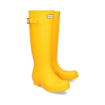 Kalosze HUNTER Oryginalne 36 żółte