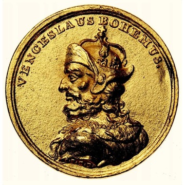 Rzadka Duża Moneta lub Medal - Popiersie #3