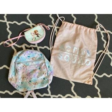 H&M torebka i plecak, Kraina Lodu (Elsa i Anna)