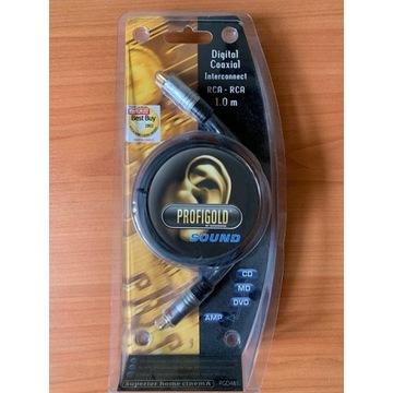 Kabel Coaxial Digital RCA - RCA 1m Profigold