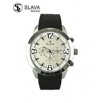 Zegarek męski Slava 10096 Biały
