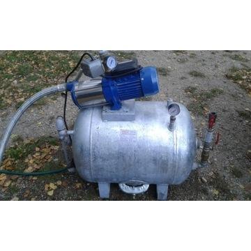 Zestaw hydrofobowy pompa + zbiornik ciśnieniowy