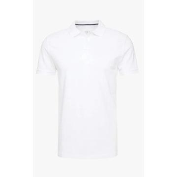 Koszulka biała polo Pier one
