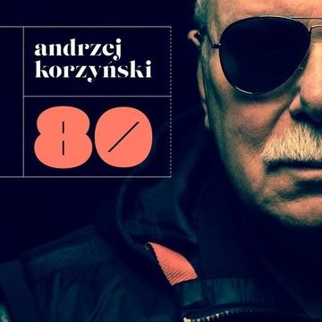 Andrzej Korzyński – 80 (CD) GAD folia