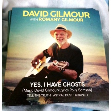 DAVID GILMOUR - PINK FLOYD - cd Yes, I have Ghosts