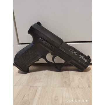 Walther CP99 Black 4,5 mm + gratis